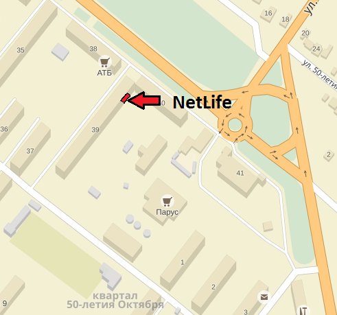 NetLife location